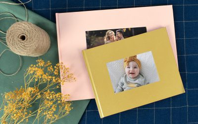 A Look Inside the Debossed Hardcover Photo Book